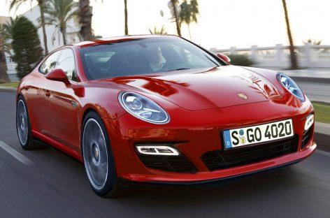 Porsche Pajun будет нацелен на конкуренцию с Tesla Model S