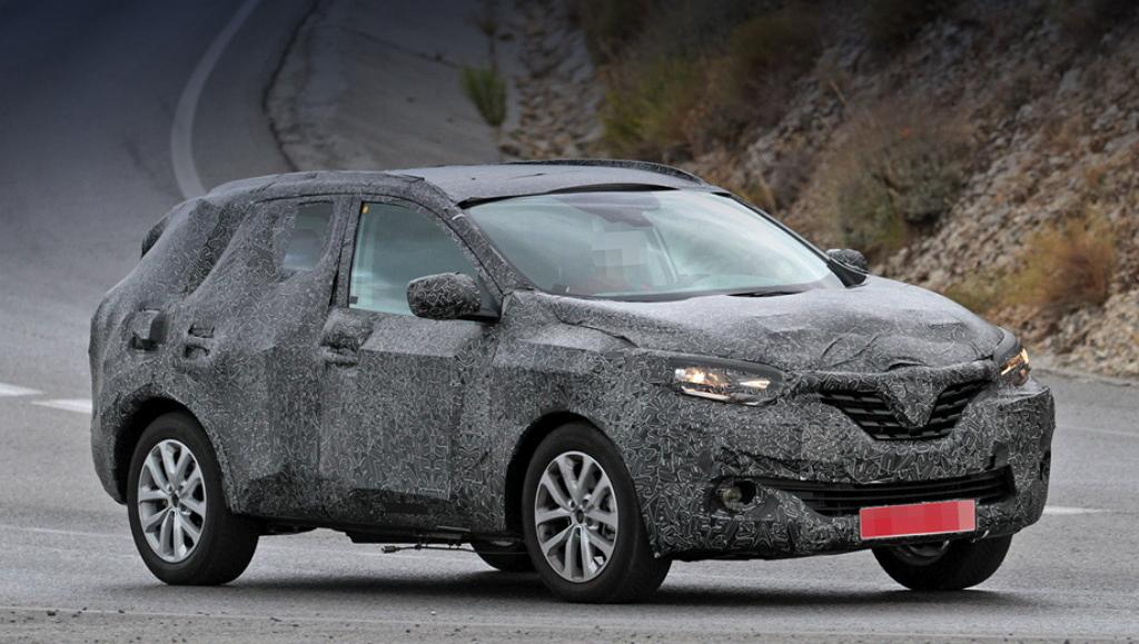 Renault Kadjar камуфляж
