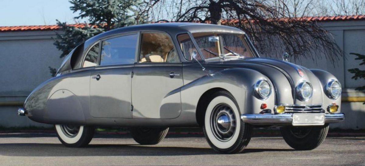 Обтекаемая Tatra T87 – редкая европейка