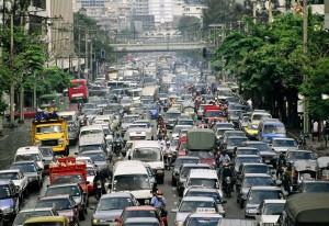 Трафик в Бангкоке