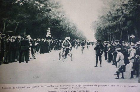 Трицикл De Dion-Bouton – звезда автоспорта