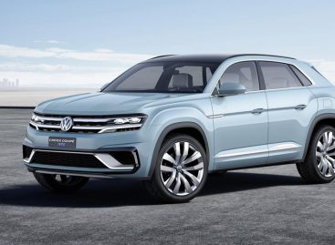Volkswagen Cross Coupe GTE – прототип большого серийного кроссовера VW