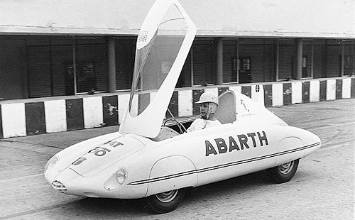 Автомобиль в дизайне ABARTH