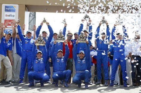 КАМАЗ завоевал 3 первых места на ралли Дакар-2015