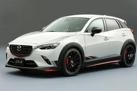Концепт Mazda CX-3 Racing — намек на будущую серийную Mazda CX-3 MPS