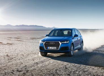 Новая Audi Q7 отличается агрессивным и спортивным видом