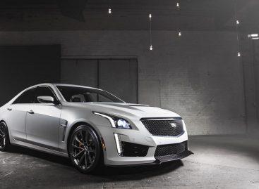 В России начались продажи нового седана Cadillac CTS-V