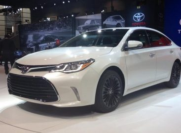 На Чикагском автосалоне показали новую Toyota Avalon