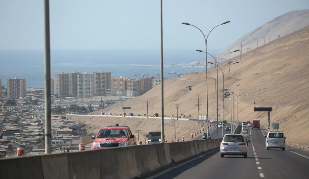 Дороги в Чили