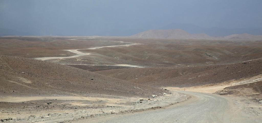 Переход через Анды