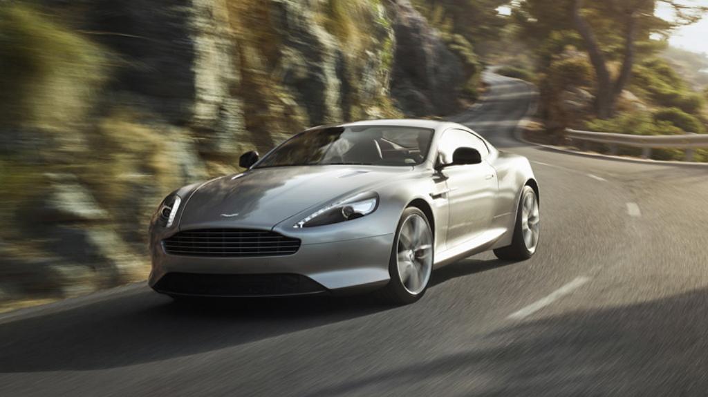 Aston Martin DB9 рестайлинг