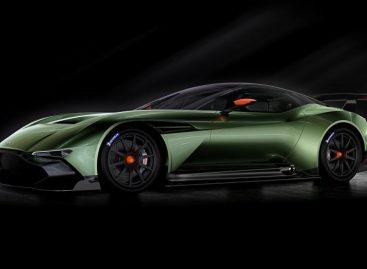 Aston Martin официально представил суперкар Aston Martin Vulcan