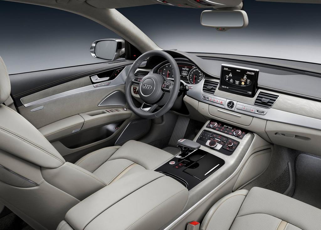 Audi A8L 2014 салон