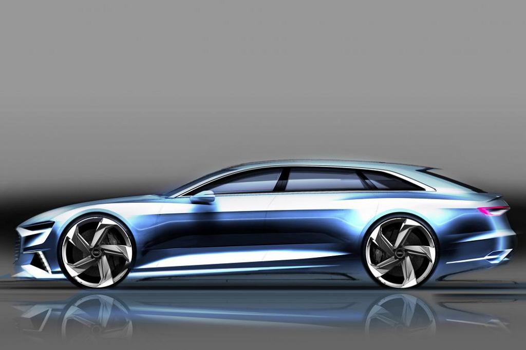 Audi Prologue Avant концепт 3