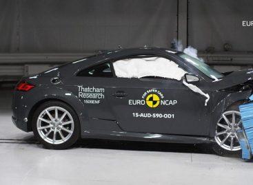 Audi TT не получила максимального рейтинга безопасности по Euro NCAP