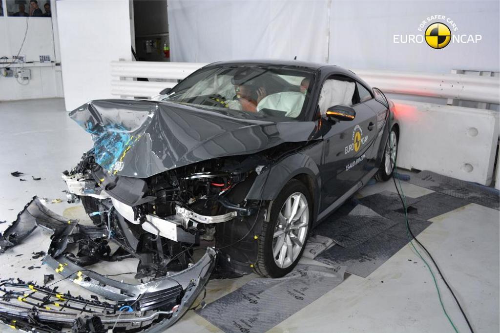 Audi TT III (2015) краш-тест