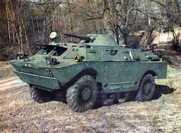 БРДМ-2 – долгоживущий советский разведчик