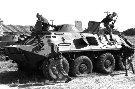 БТР 60-П – плавающий армейский бронетранспортер