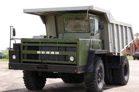 БелАЗ-540 – карьерный самосвал с двигателем от танка T-34