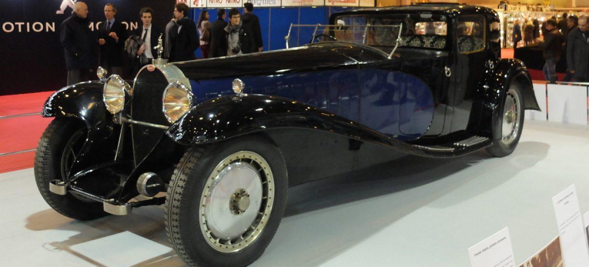 Первый Bugatti был всего в шести экземплярах