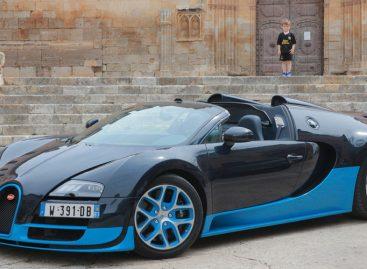 Volkswagen прощается с Bugatti Veyron