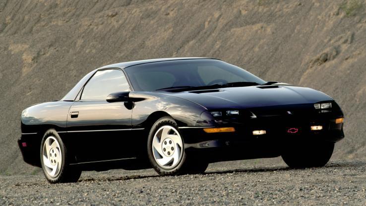 Chevy Camaro 1993 года