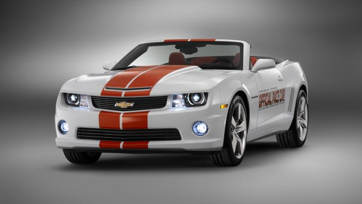 Chevy Camaro Indy 500 Pace Car 2011 года