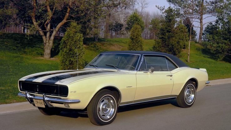 Chevy Camaro RS Z28 1967 года