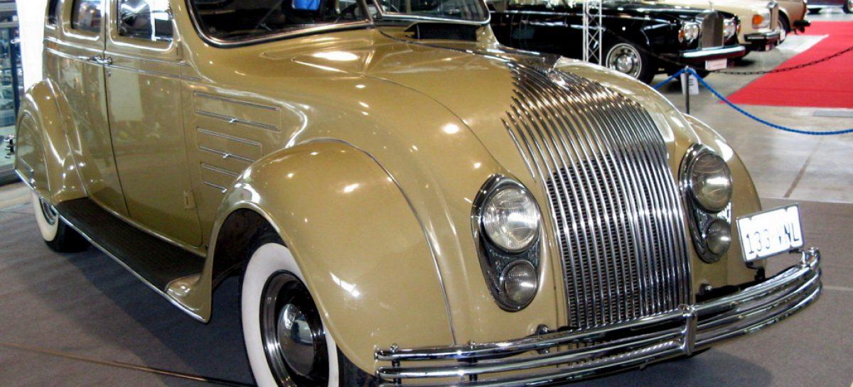 Chrysler Airflow из 1934 года – автомобиль завтрашнего дня