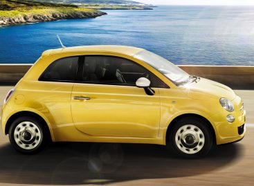 Fiat 500 – резкий спортивный автомобиль