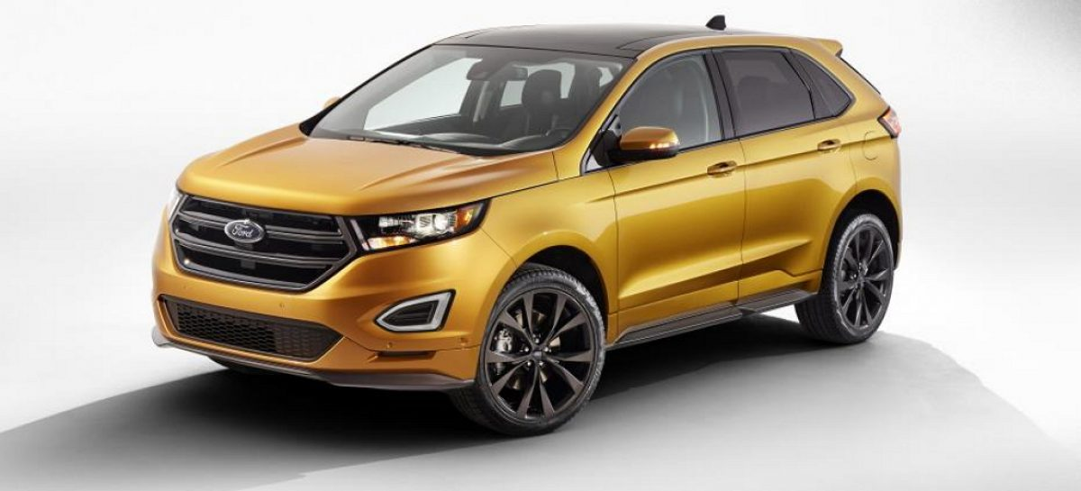 Спортверсия Ford Edge – еще больше мощи