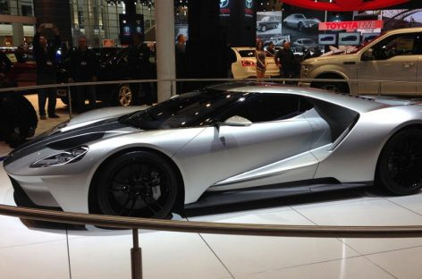 Новый суперкар Ford будут собирать в Канаде