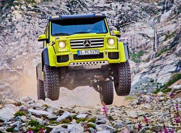 Монстр и без лишней оси – новый концепт от Mercedes