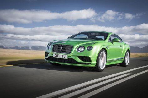 Обновленные Continental GT и Flying Spur – чуть больше мощи