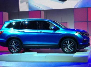 Новый Honda Pilot похудеет и станет более изгибистым