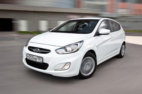 Hyundai подняла цены на Solaris