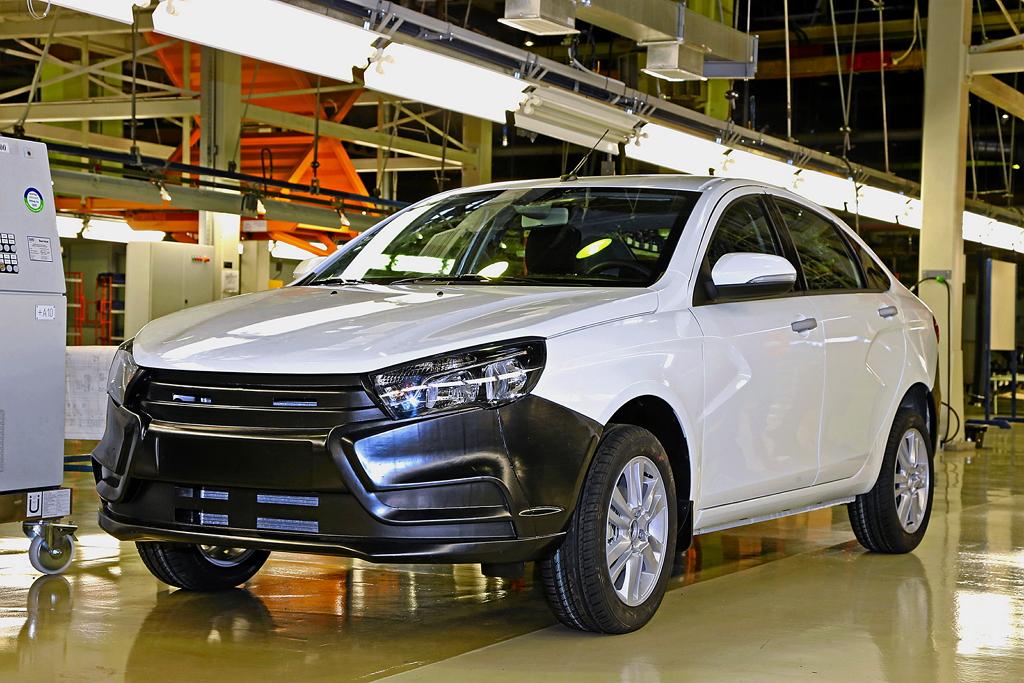 Lada Vesta на заводе