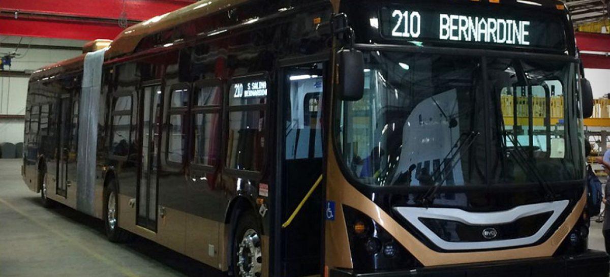 Китайцы из BYD заинтересовали американцев электроавтобусом