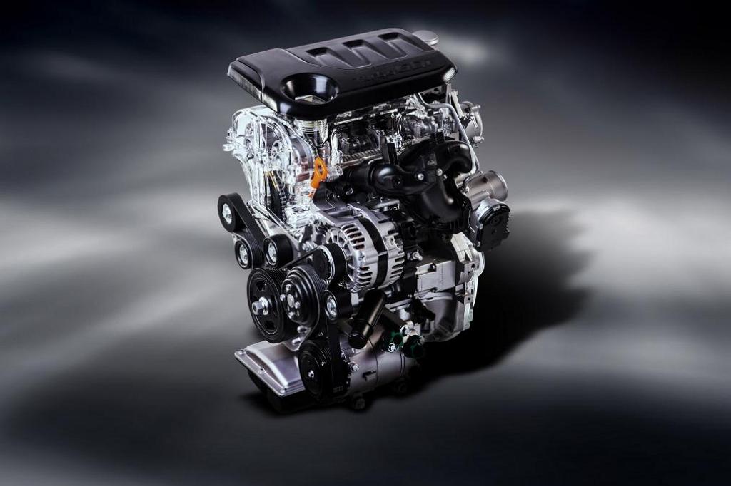 Мотор Kia T-GDI 1.0