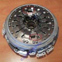 Положение регулировочного кольца пакета сцепления К1