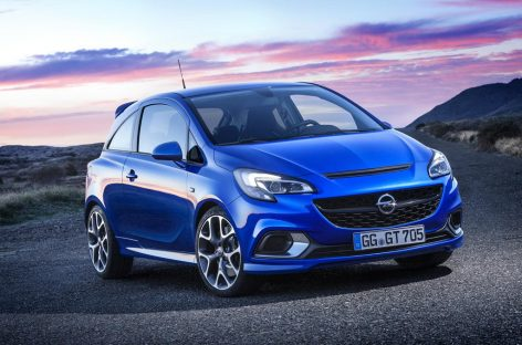 Вынужденный официальный анонс Opel Corsa OPC