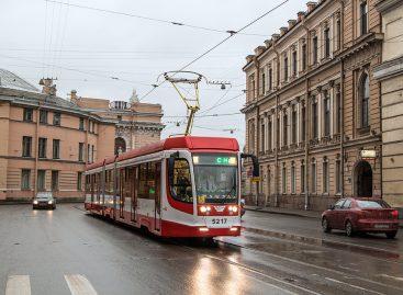 По Петербургу проедет «Трамвай Победы»