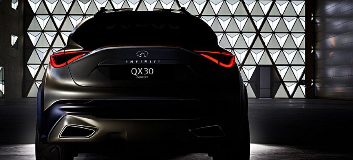 Прототип Infiniti QX30 готовится к Женевскому автошоу