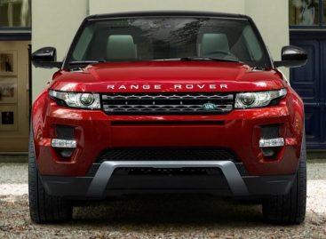 Range Rover Evoque – очень дамский автомобиль