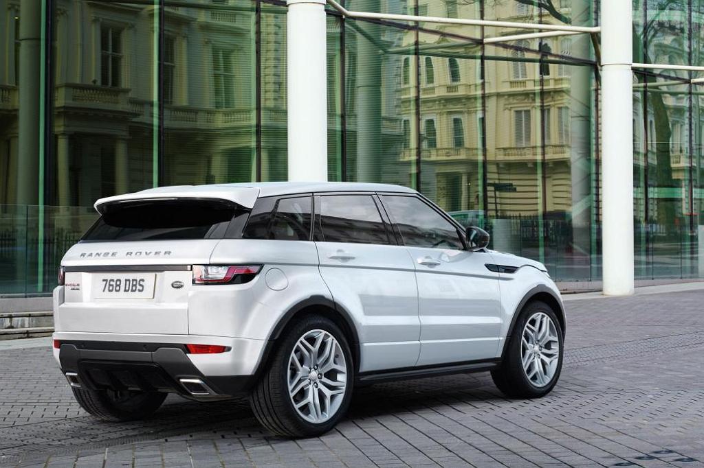 Range Rover Evoque рестайлинг
