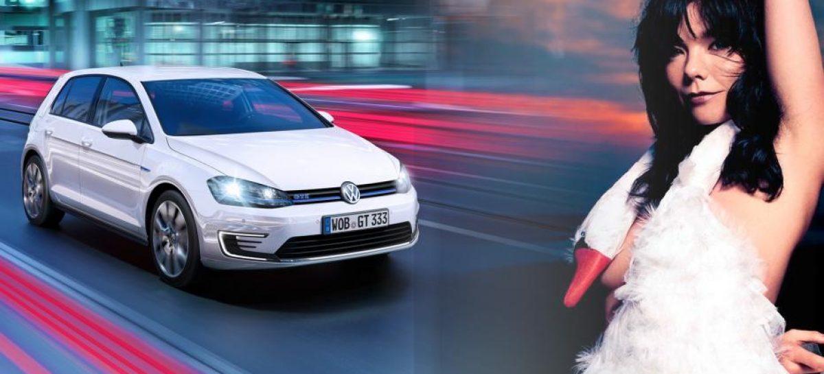 Volkswagen создает звуковое путешествие по выставке Бьорк