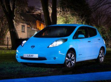Nissan Leaf будет светиться в темноте
