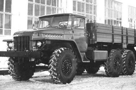 Грузовик Урал-377 – непреднамеренный тягач