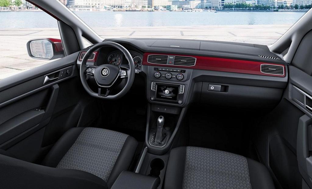 Volkswagen Caddy 2015, салон