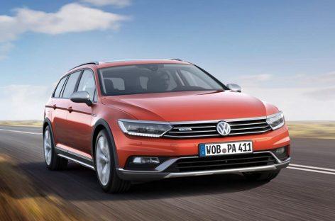В Женеву едет универсал Volkswagen Passat Alltrack